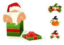 Little nice santa Claus Royalty Free Stock Photo