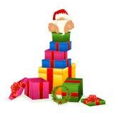 Little nice santa Claus Stock Image