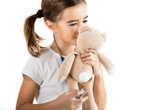 Little nurse Stock Photography