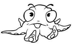 Little Octopus Stock Photography