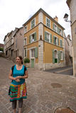 A little, old French village Stock Photography