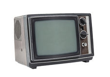 Little Old Portable Television Set Royalty Free Stock Photography