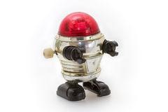 Little old toy robot Royalty Free Stock Photography
