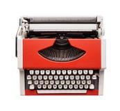 Little orange typewriter Stock Image