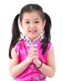 Little Oriental girl Stock Image