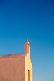 Little orthodox church in Folegandros Royalty Free Stock Photo