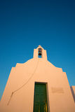 Little orthodox church in Folegandros Royalty Free Stock Images