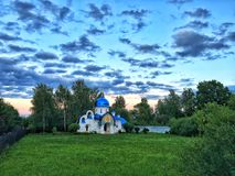 Little Orthodox Church Turovo Russia Royalty Free Stock Images