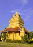 Little Pagoda in Temple and Blue Sky Royalty Free Stock Photos
