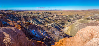 Little painted desert in Arizona. Stock Photography