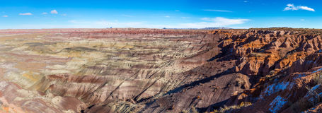 Little painted desert in Arizona. Royalty Free Stock Photography