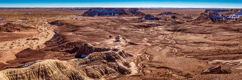 Little Painted Desert winter Landscapes Stock Image