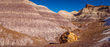 Little Painted Desert winter Landscapes Stock Photography