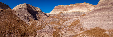 Little Painted Desert winter Landscapes Royalty Free Stock Image