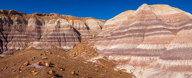 Little Painted Desert winter Landscapes Royalty Free Stock Photography