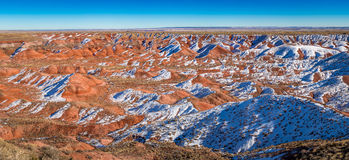 Little Painted Desert winter Landscapes Stock Images