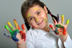 Little painter Stock Photos