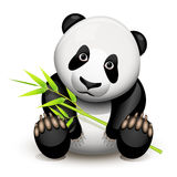 Little panda Royalty Free Stock Photography