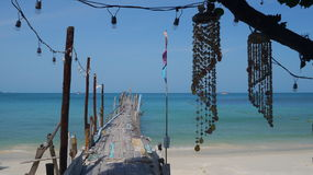Little paradise in Koh Samet, lovely island in Thailand Royalty Free Stock Photos