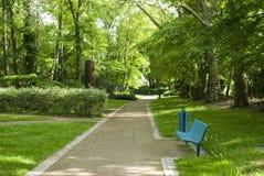 little park går royaltyfri fotografi