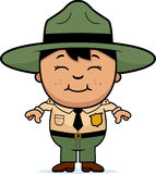 Little Park Ranger Stock Image