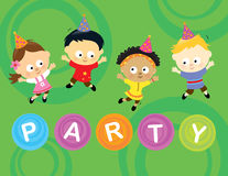Free Little Party Kids 2 Royalty Free Stock Images - 16947179
