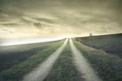 Little path in the countryside Royalty Free Stock Photography
