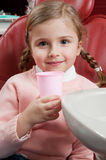 Little patient at dentist Royalty Free Stock Image