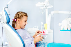 Teeth hygiene Stock Photography