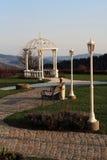 little paviljong royaltyfri foto