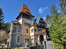 Little Peles Castle Royalty Free Stock Photography