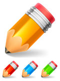 Little pencil. Royalty Free Stock Photo