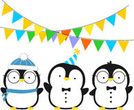 Little penguins Royalty Free Stock Images