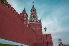Little person and Kremlin Royalty Free Stock Images