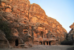 Little Petra, Jordan Stock Photography