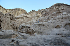 Little Petra rocks, Jordan Royalty Free Stock Photography