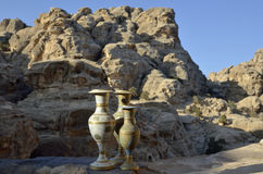 Little Petra souvenirs, Jordan Stock Images