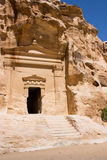 Little Petra Tomb Entrance Royalty Free Stock Photos
