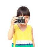 Little photographer Royalty Free Stock Photo