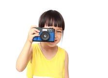 Little photographer Royalty Free Stock Image