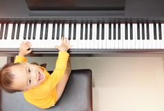 Little Pianist royalty free stock images