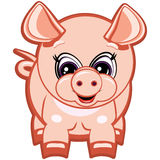 Little pig. One of the symbols of the Chinese horoscope Stock Photos