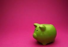 Little piggy bank Stock Photo