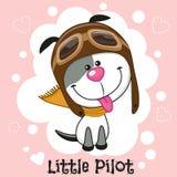 Little Pilot Stock Photo