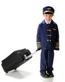 Little Pilot on the Go Royalty Free Stock Photos