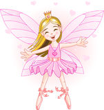 Little pink fairy Royalty Free Stock Images