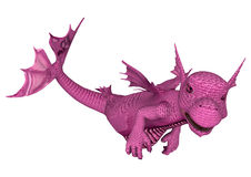 Little Pink Sea Dragon Royalty Free Stock Images