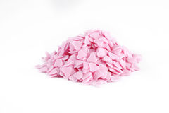 Little pink sugar hearts Royalty Free Stock Photography