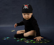 Little pirate. Royalty Free Stock Image
