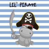 Little Pirate Stock Photo